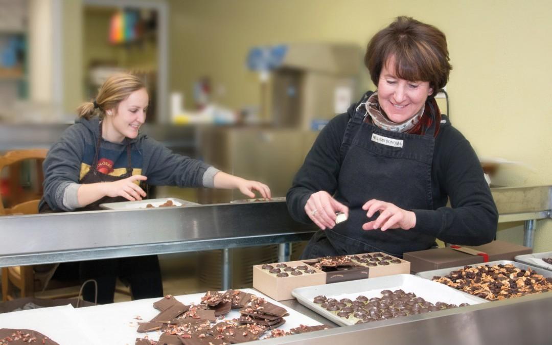 Chocolatier Enjoys Sweet Labor Of Love