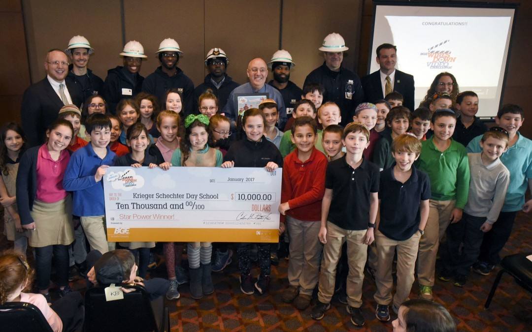 KSDS Wins BGE Video Challenge for Second Consecutive Year