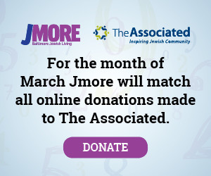 For the month of March Jmore will match all online donations made to The Associated.