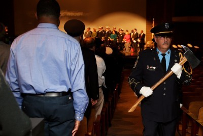 Pikesville Volunteer Firefighters Received Special Commendations from County