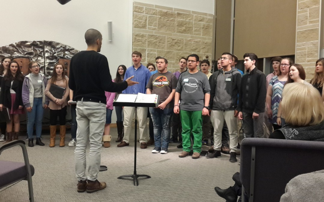 Baltimore Teen Choir Bonds With Counterparts from Israeli Sister City