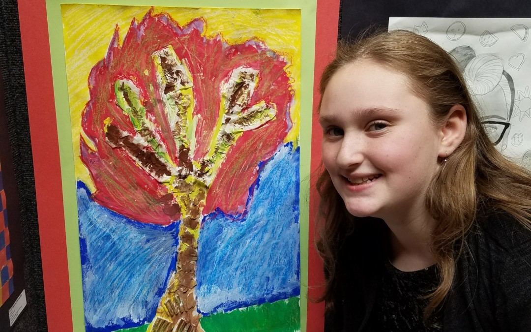 Franklin Student Among Young County Artists Honored at Walters