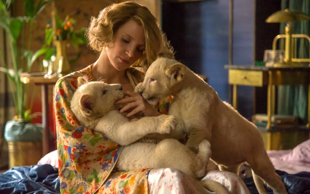 Jessica Chastain Plays Holocaust Heroine in 'Zookeeper's Wife'