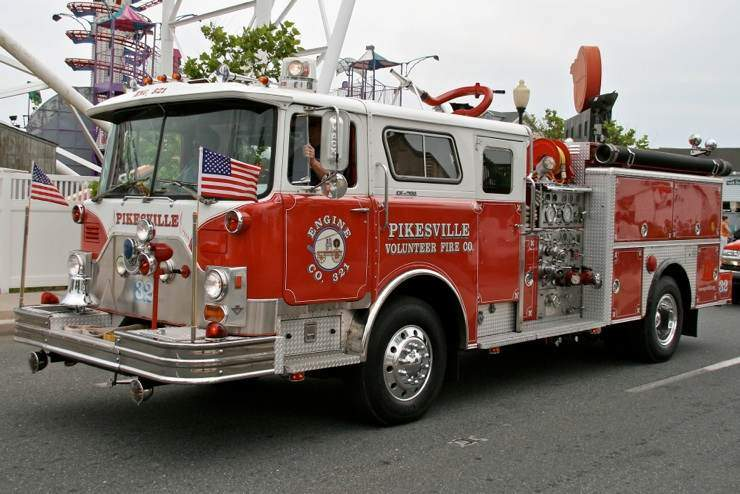 Pikesville Firefighters to Receive Special Commendations