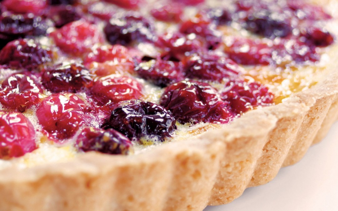 Cranberry Lemon Tart