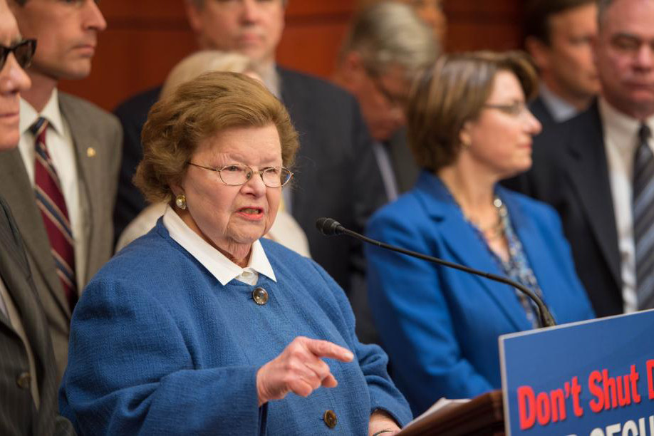 Missing Mikulski and her Message