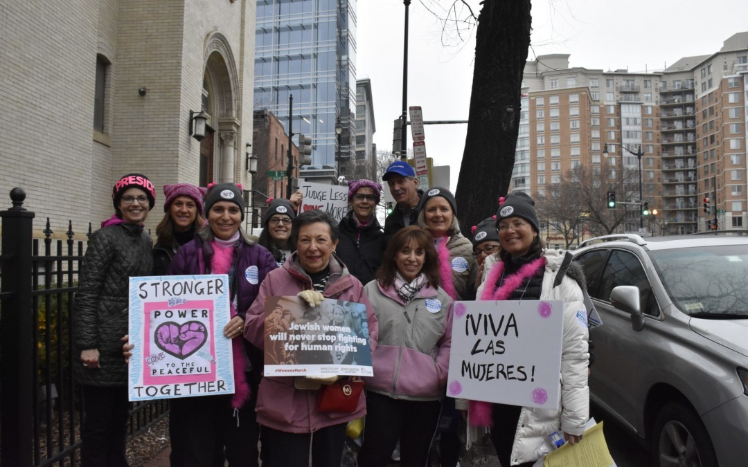 Scores of Baltimore Area Jews Attend Women's March on Washington