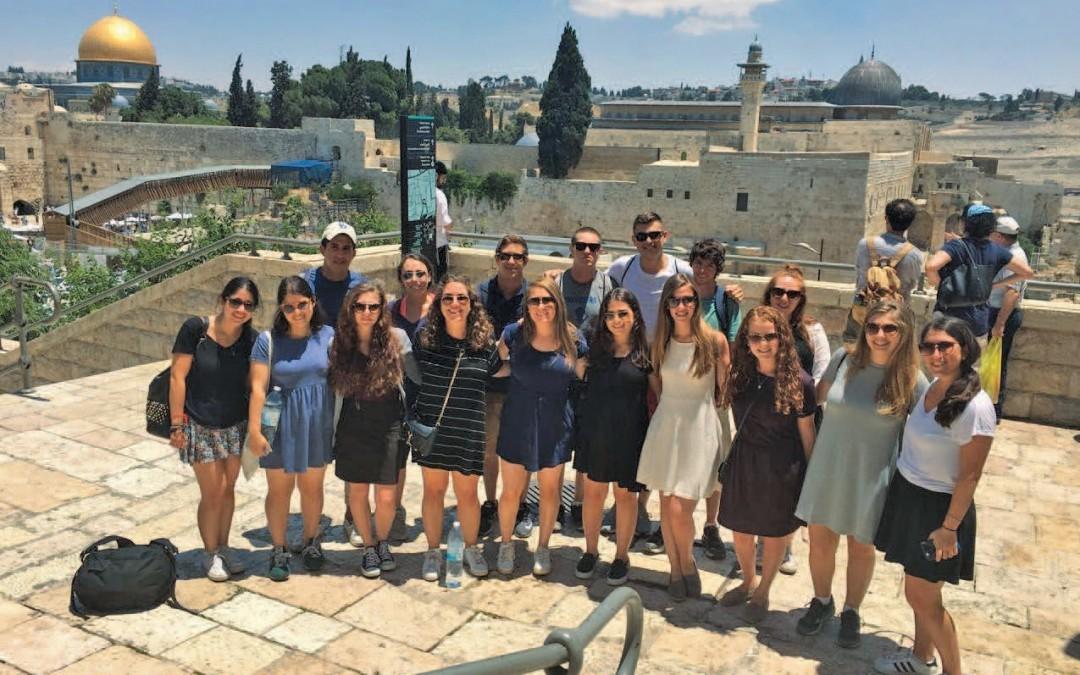 Hallie Miller Tackles Israel