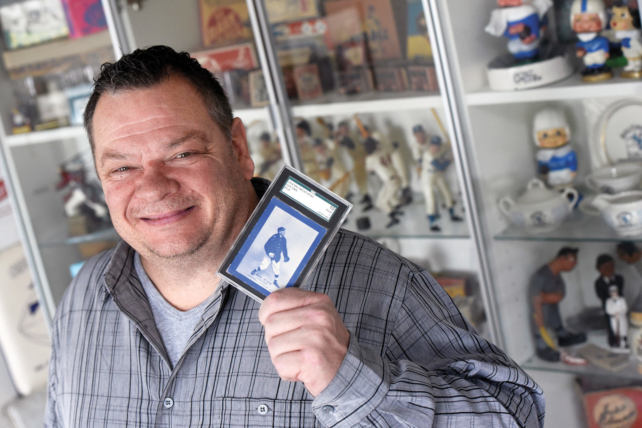 Local Baseball Card Collector Holds All The Cards Jmore