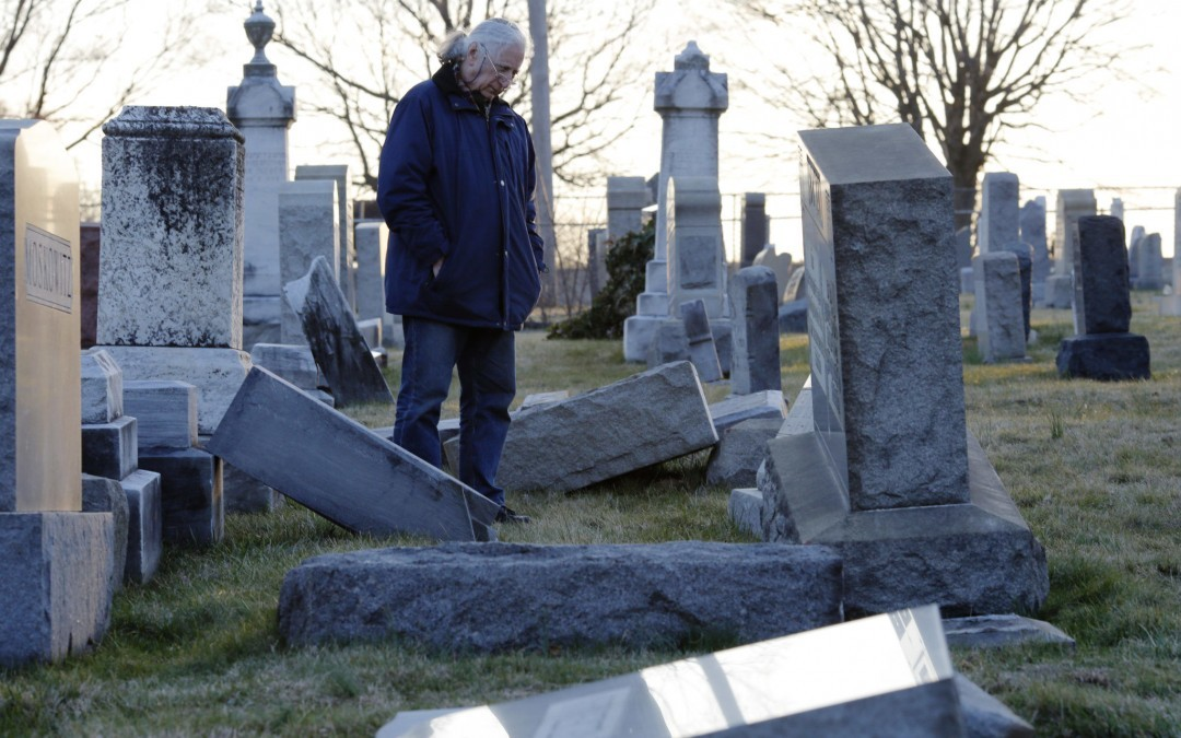 Jewish Cemeteries Make Easy Targets for Vandals
