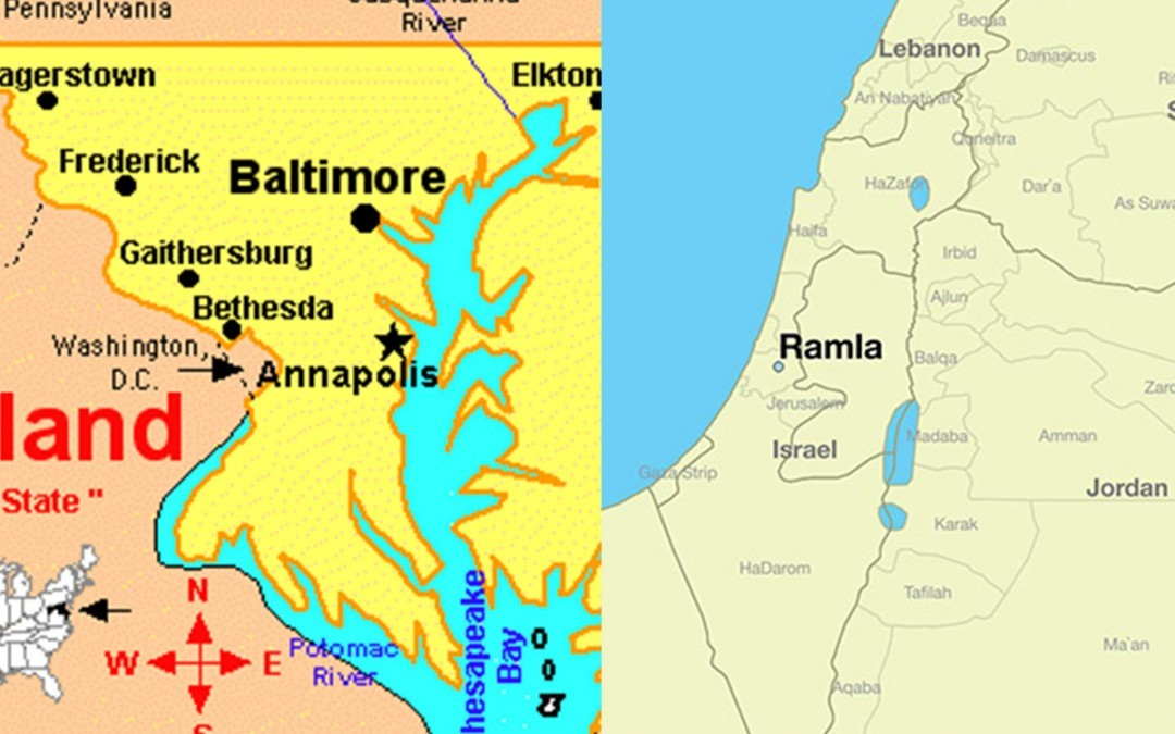 Baltimore and Ramla: A Tale of Two Cities