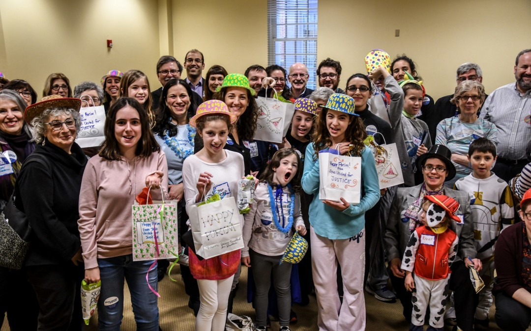 Activists Bring A Taste of Purim to Annapolis Legislators