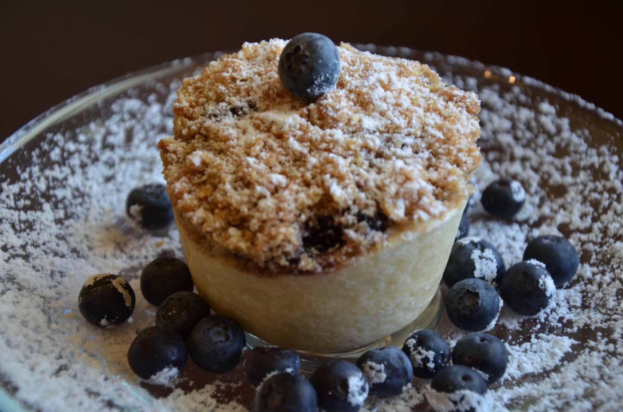 Muffin Tin Blueberry Pie