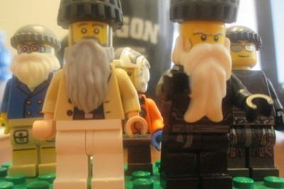 These Hasidic Legos Are Coming to a Death Star Shul Near You