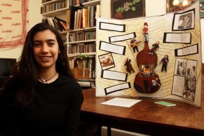 Baltimore's Rebekah Geller Wins International Jewish Art Contest