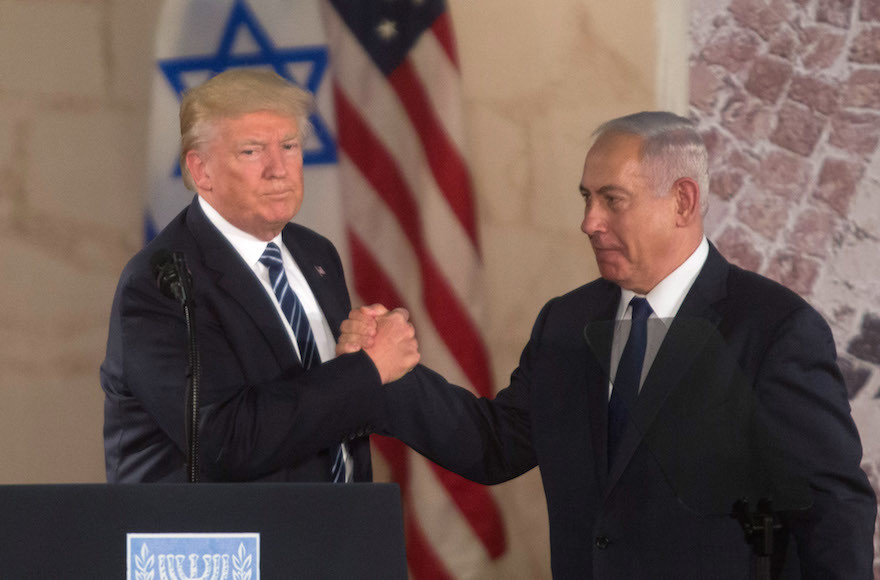 The 7 Most Awkward Moments from Trump's Israel Trip