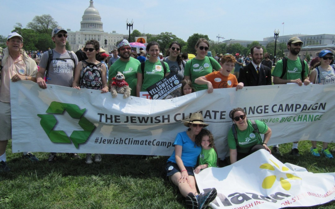 Jewish Groups Lambaste Trump's Pullout from Climate Accords