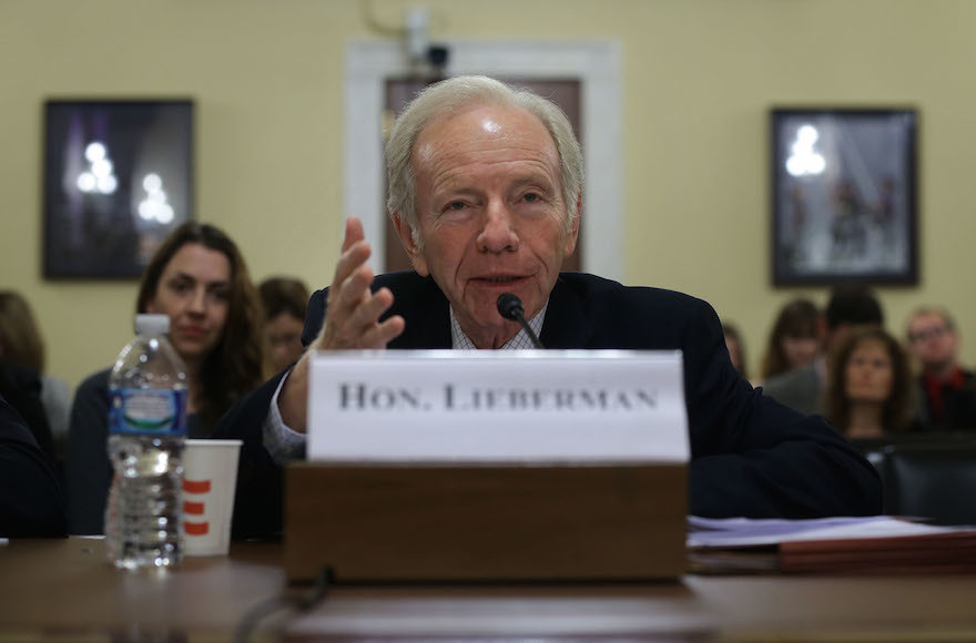 Joe Lieberman Among Trump Candidates for FBI Director