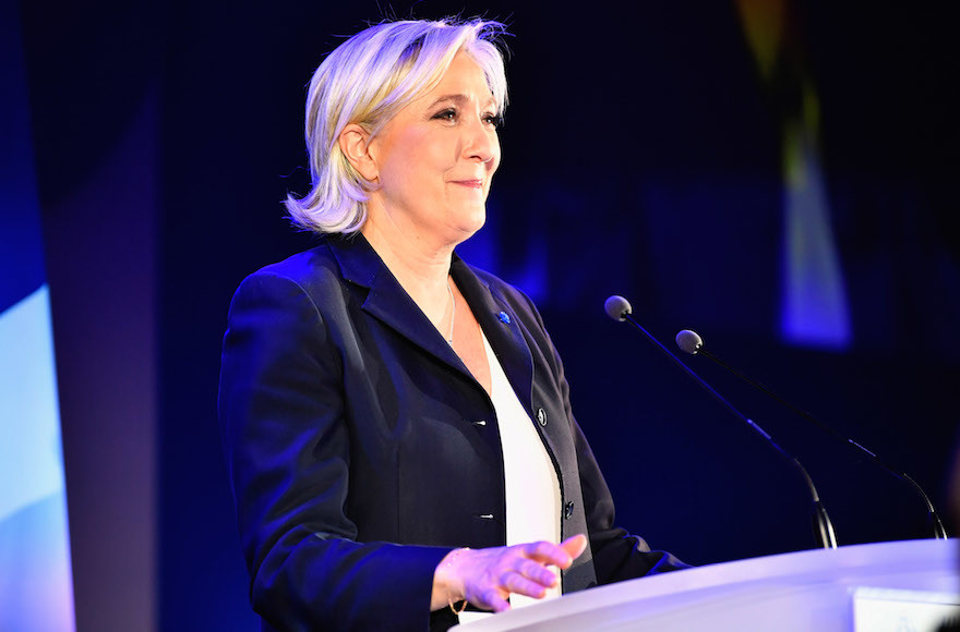 French Jews 'Relieved' Macron Won but Worried Over Le Pen's Gains