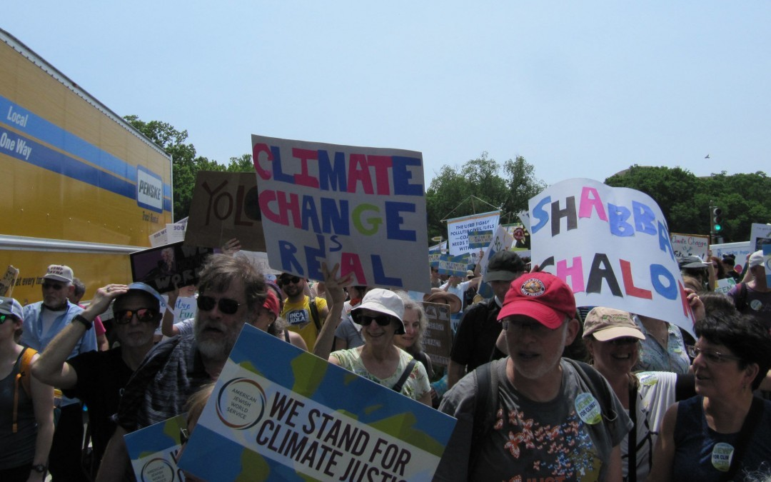 Thousands Join People's Climate March in D.C.