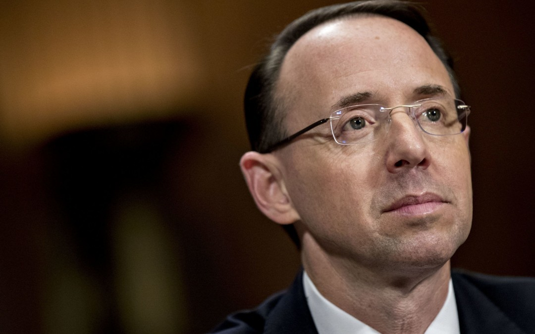 5 Things to Know About Rod Rosenstein