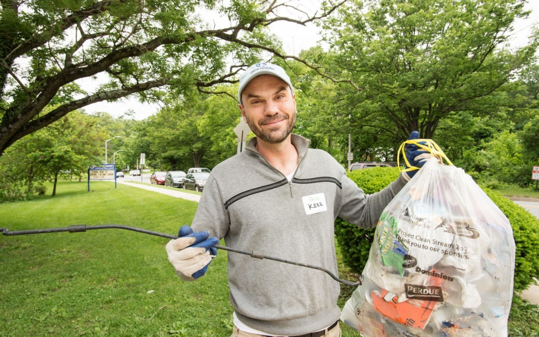 Northwest Baltimore Neighbors Gather for Stream Cleanup