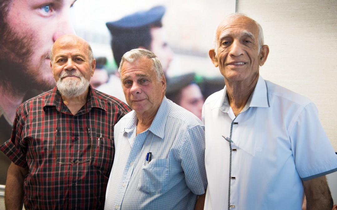 Six Day War Vets from Iconic Photo Speak in Baltimore Area