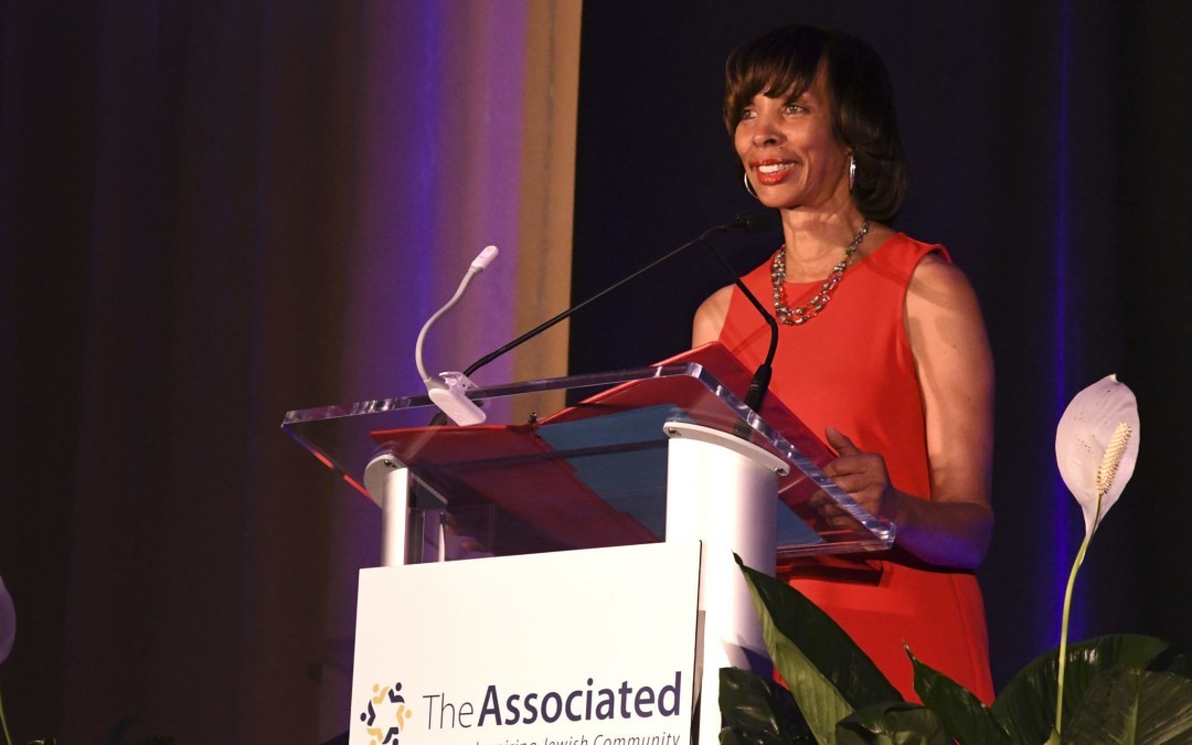 Mayor Pugh Speaks at Associated's Annual Meeting