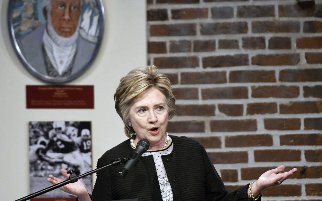 Clinton Warns Against Isolationism During Baltimore Talk