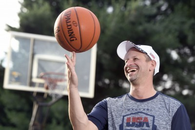 Basketball 'Junkie' Heading to Israel for International Competition