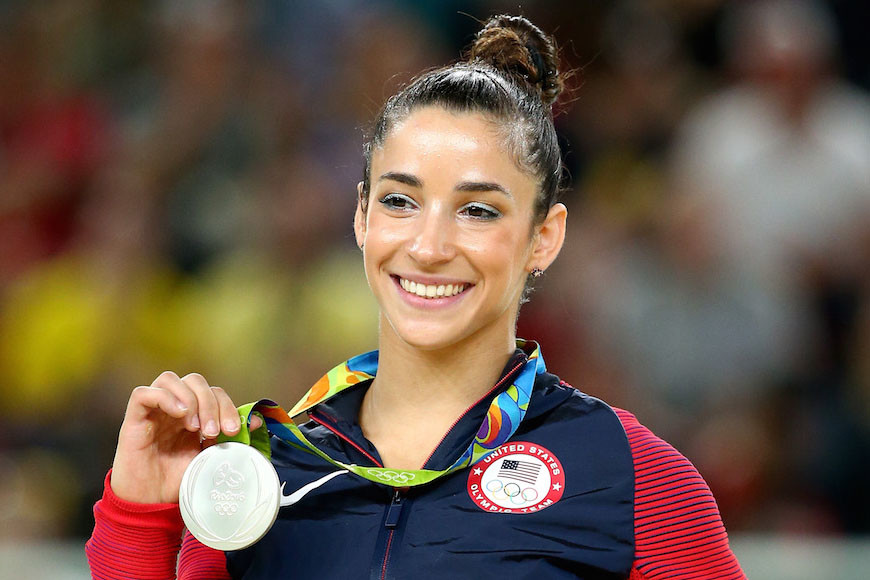 Aly Raisman Only Jewish Athlete in 100 Most Famous Sports Stars List