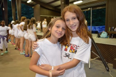 Postcards from Camp: Sisters Hannah T. and Nora T., Camp Louise