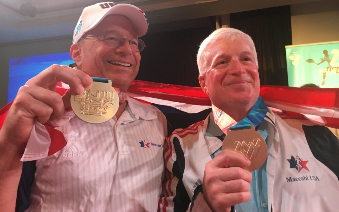 Temple Beth Shalom Members Win Medals at Maccabiah Games