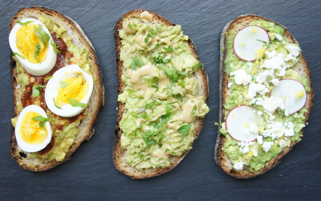 Israeli-Inspired Avocado Toast, 3 Ways
