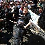 White supremacist protesters