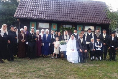 Polish Villagers Hold a Jewish Wedding Without Jews