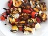 Grilled Challah Caprese Salad