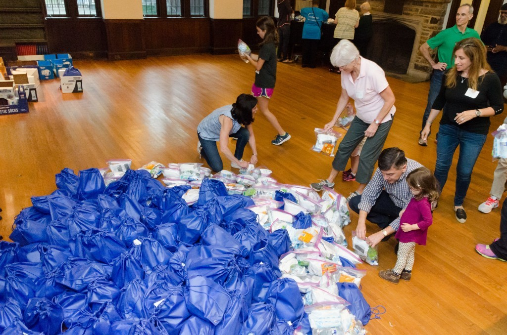 Blessing Bags' Assembled for Homeless at Interfaith Event - JMORE