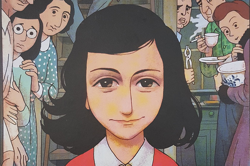 Israeli Director Ari Folman Unveils 1st Authorized Anne Frank Graphic Novel