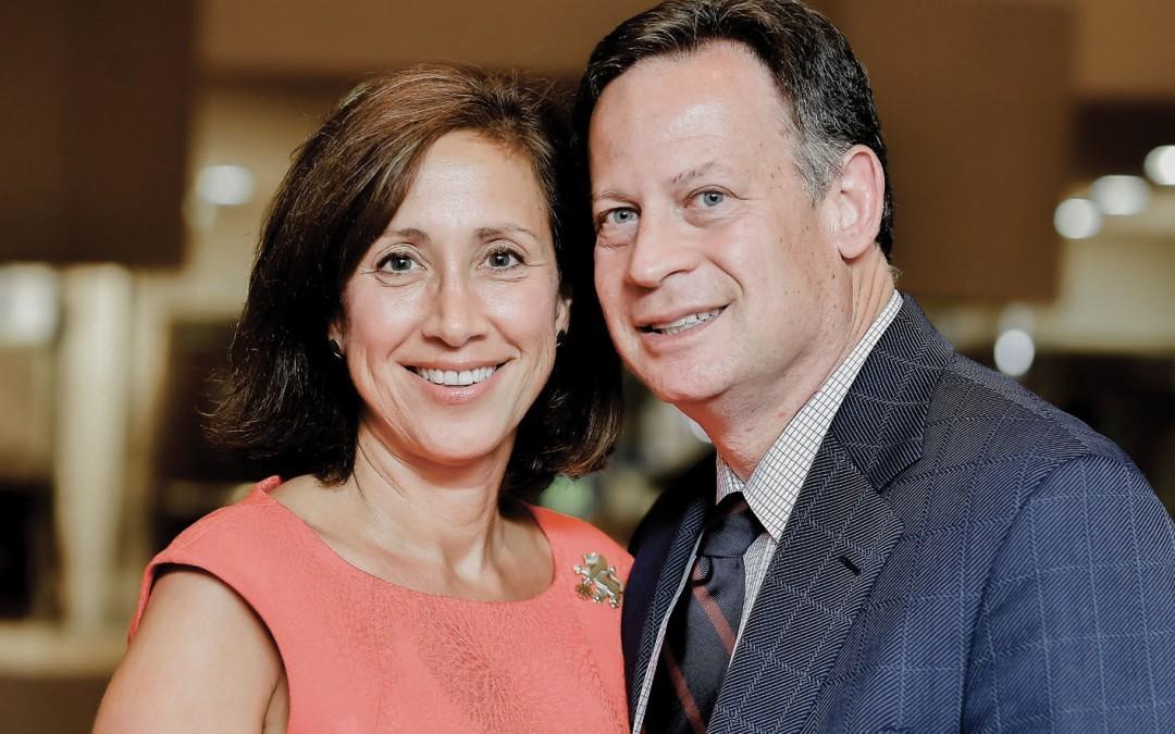 Tammy and Fred Heyman Take on Super Sunday