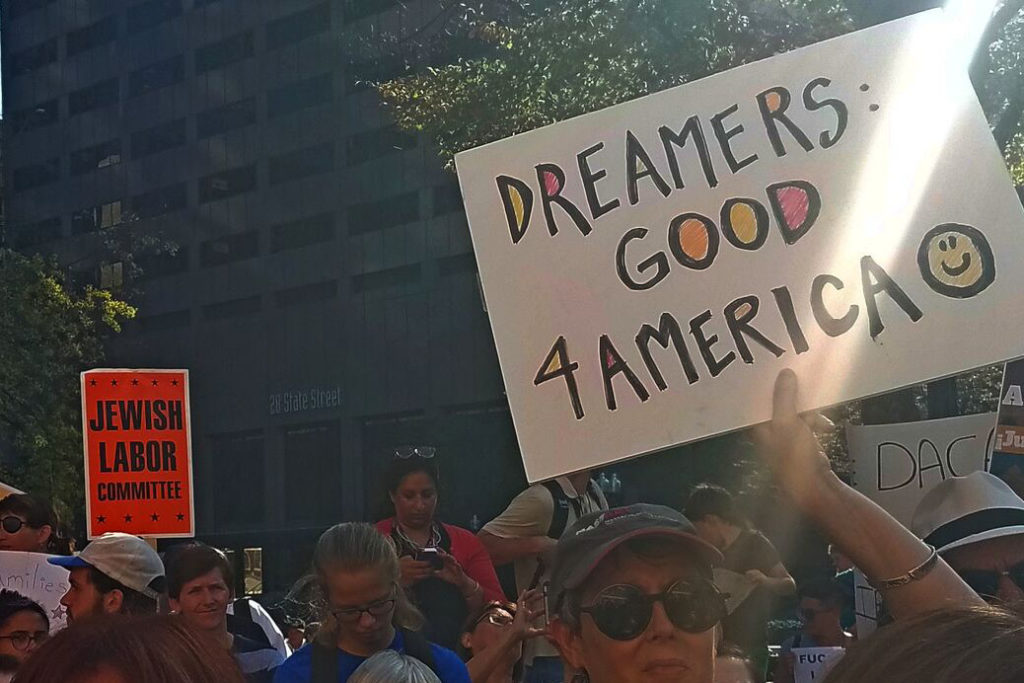 Dreamers rally