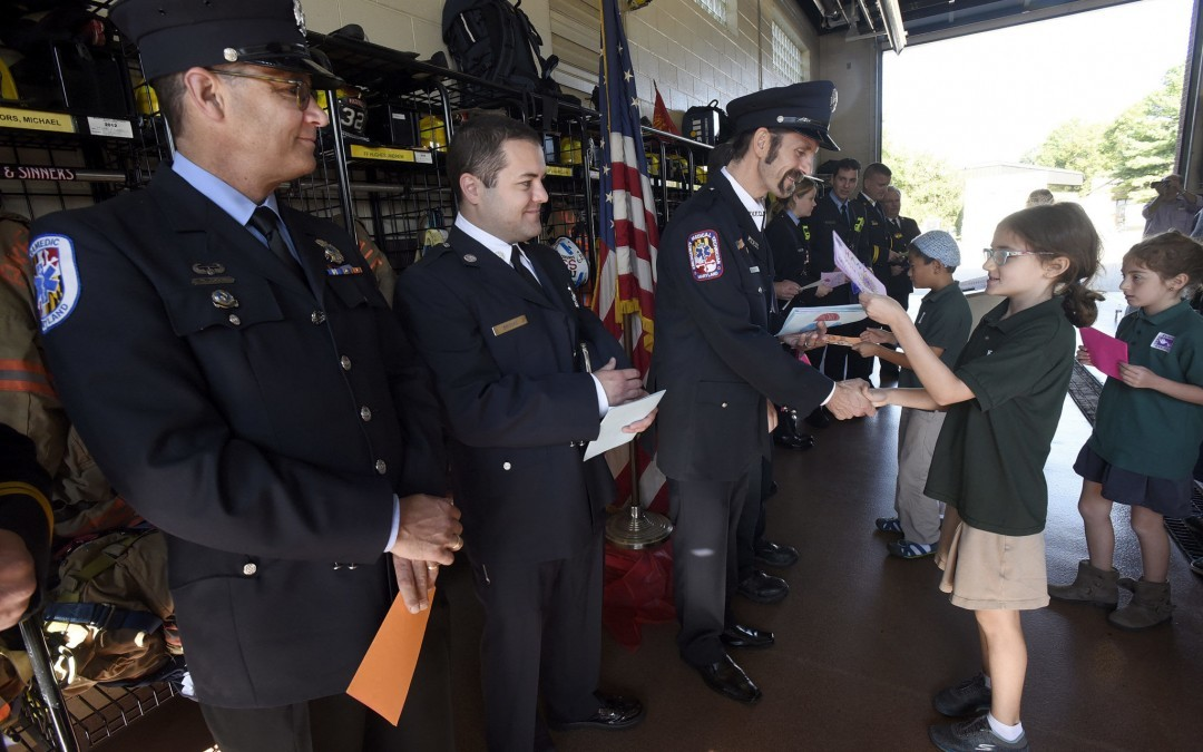 Firefighters, Area Groups Remember 9/11