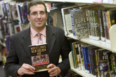 Ron Snyder Examines Pro Wrestling in New Book