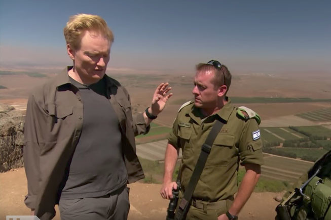 Conan and 'Transparent' Give Israel the Normalcy it Craves