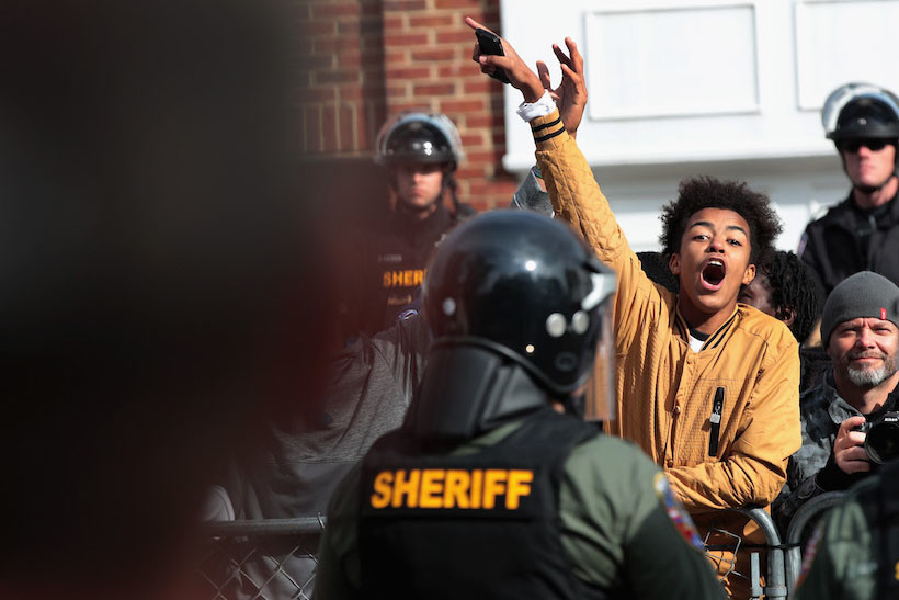 White Supremacist Rally in Tennessee Met by Larger Counterprotest