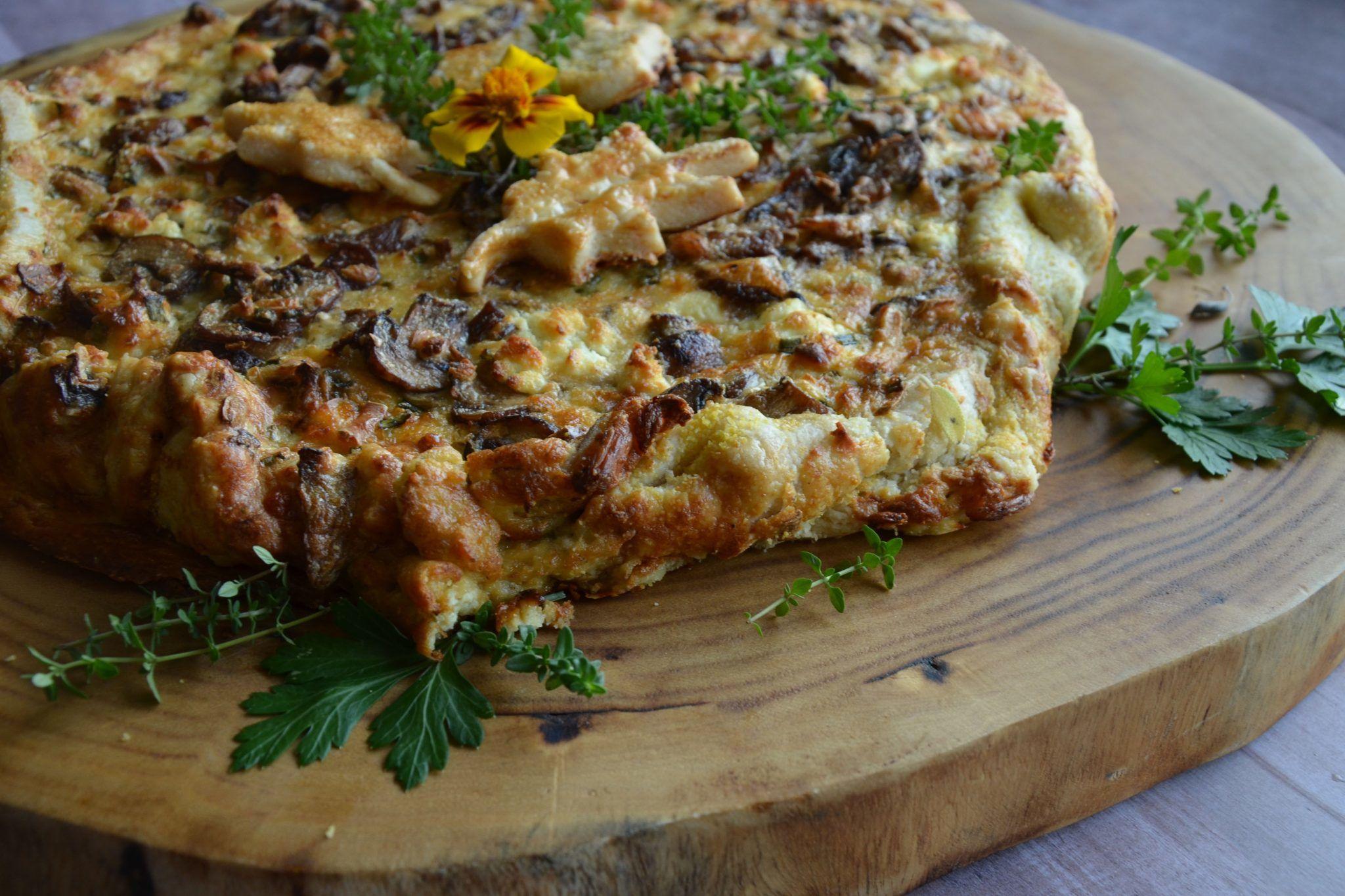 Cremini Mushroom Tart