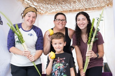 Mobile Sukkah Visits The Charmery and Other Hot Spots