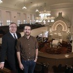 Rabbi Etan Mintz and Josh Kohn