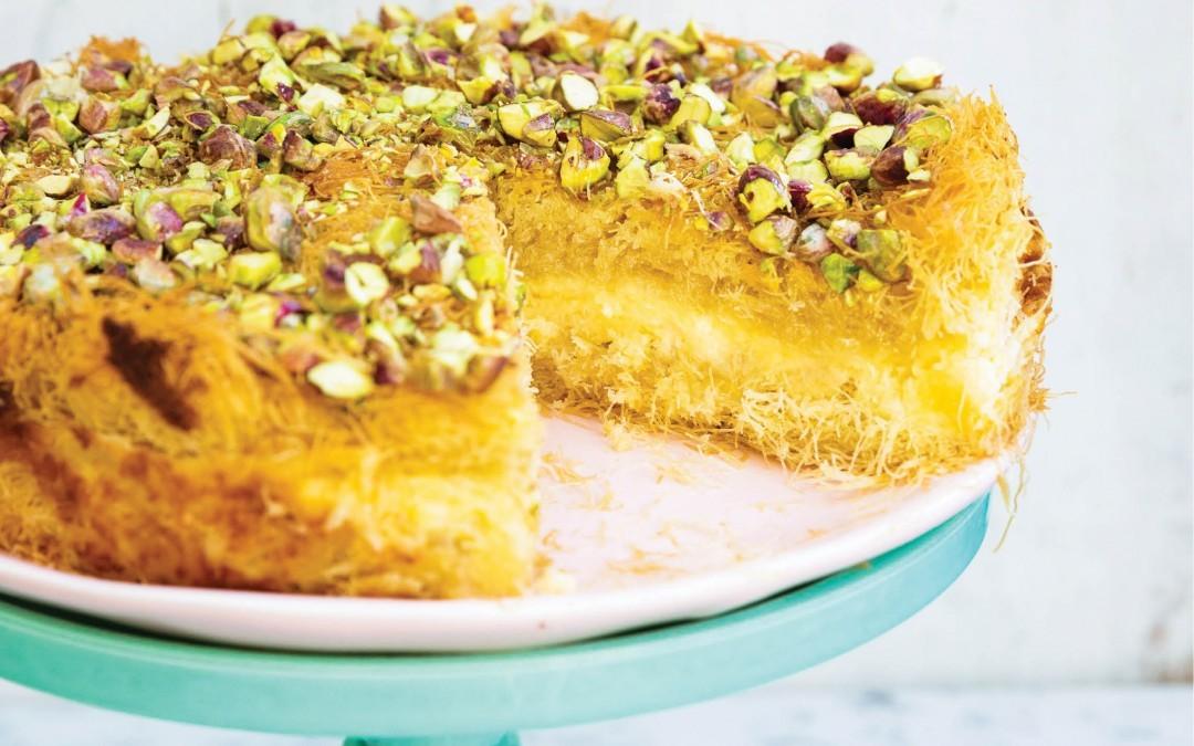 Kanafeh Cheesecake Recipe