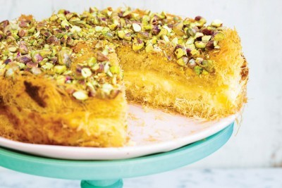 Kanafeh Cheesecake Recipe